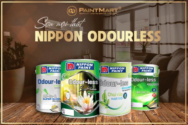 Sơn nội thất Nippon Odourless có ưu điểm gì? Bao gồm những dòng sơn nào?