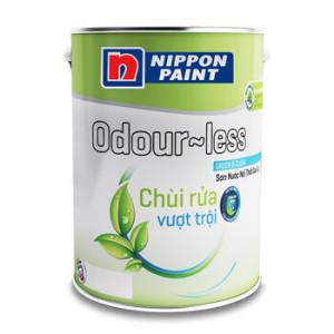 Sơn Nippon Odour-Less Chùi Rửa Vượt Trội